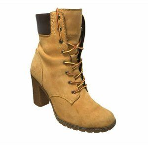 Timberland Glancy 6 Inch Boots Size 7.5 Wheat